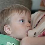 Грудное вскармливание после 2 лет - мой младший сын